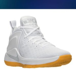brand new f6211 9d23b Nike Shoes - Nike Zoom Witness Lebron Sneakers White   Gum Sole